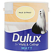 Dulux Matt Emulsion Pale Citrus 2.5l