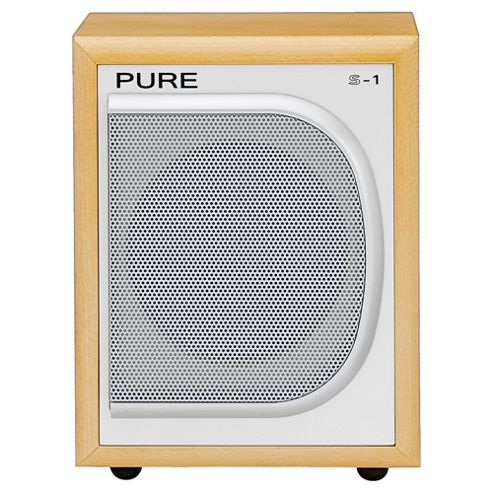 Pure S-1 Speaker Maple Mono Sound output