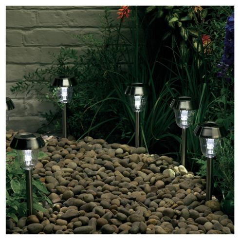 Stainless Steel dual function lights (white/colour changing)