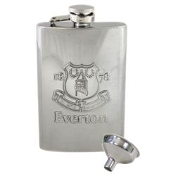 Everton Hip Flask Chrome