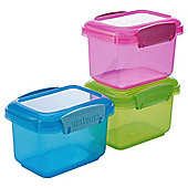 Sistema Lunch 400ml Food Containers, Set of 3