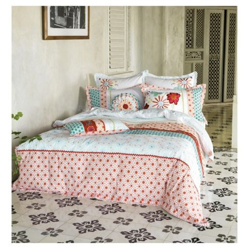 Linen House Mariela Kingsize Size Duvet Cover Set