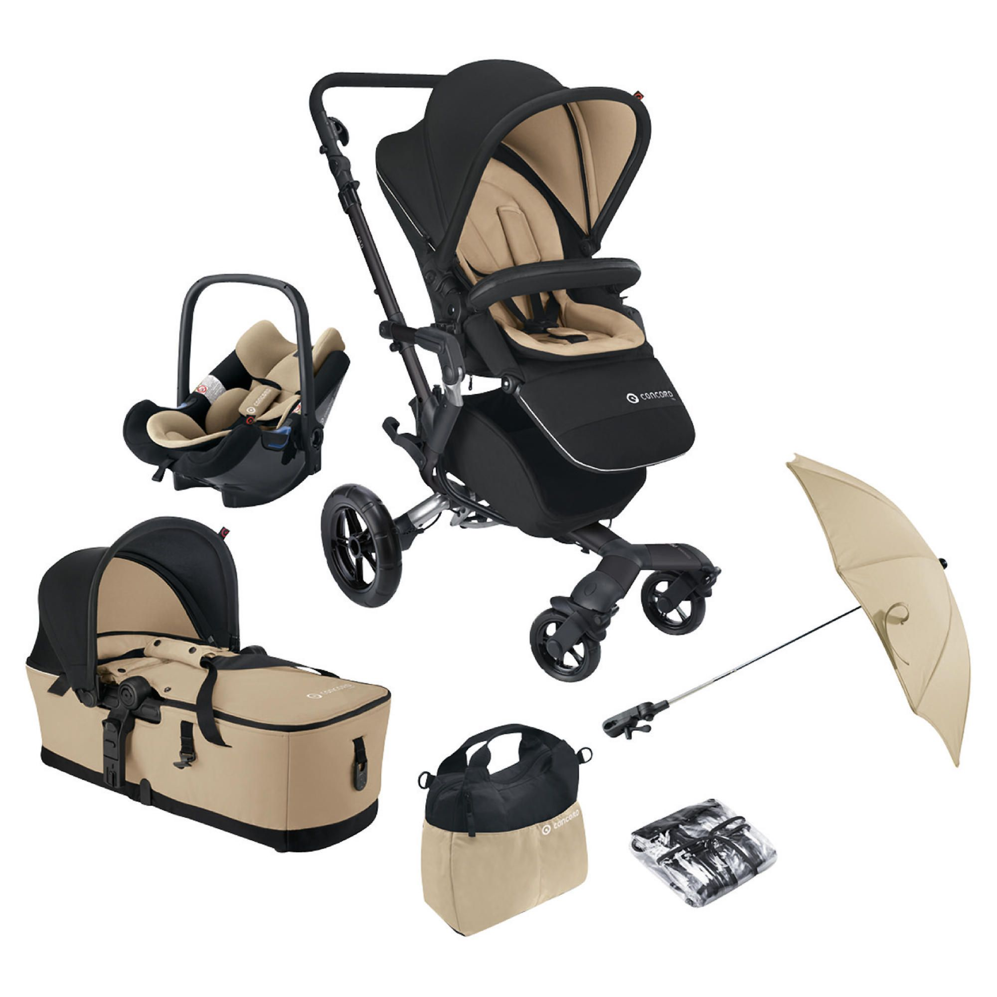 Concord Travel System Neo Mobility Set, Sahara at Tesco Direct