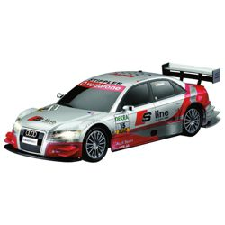 Auldey Audi A4 DTM 1:28 Silver RC Toy Car