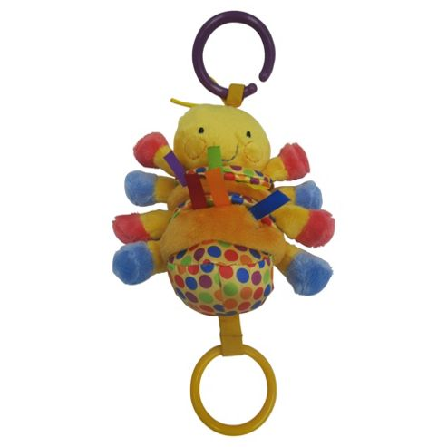 Minikins Wiggly Caterpillar Pram Toy