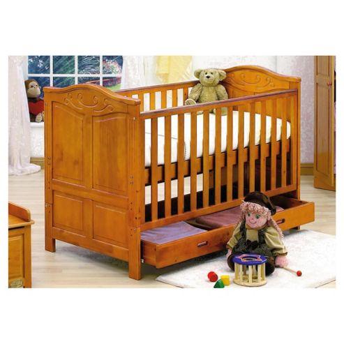 Tutti Bambini Jake Cot Bed,  Antique Pine
