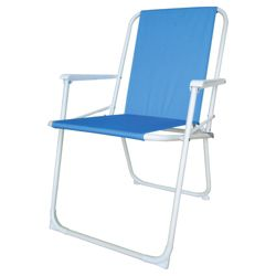Folding Picnic Chair Blue