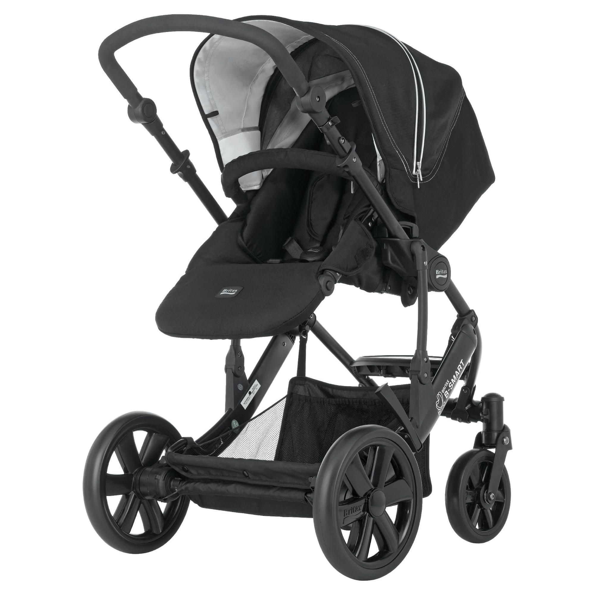 Britax B-Smart 4 Pushchair Black Thunder at Tesco Direct