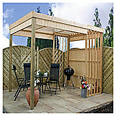 Contemporary Wooden Garden Shelter