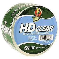 Duck Tape® HD clear heavy duty packaging tape