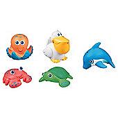 Munchkin 5 Sea Squirt Bath Toys