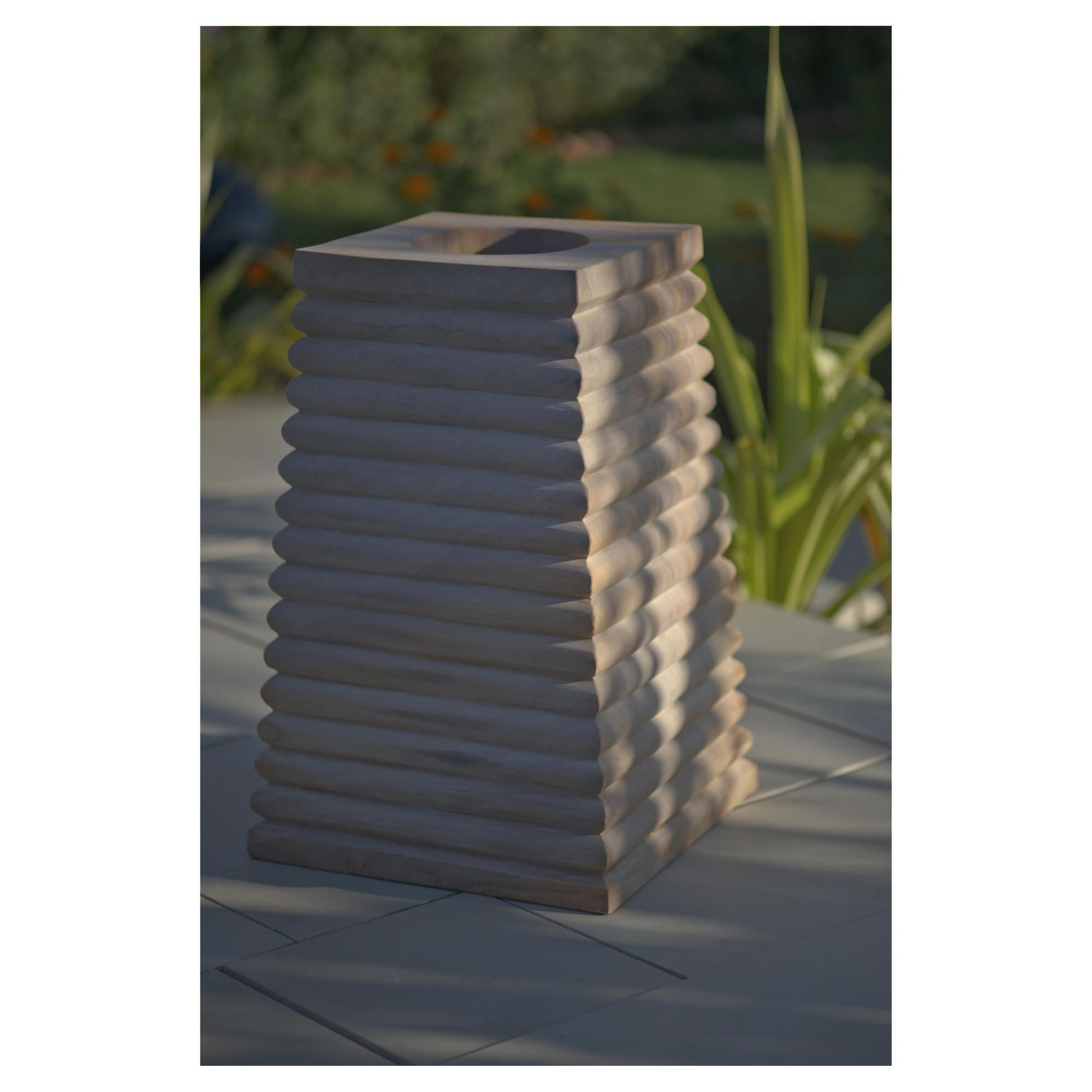 Lyra  Rainbow Stone Planter 80cm at Tesco Direct