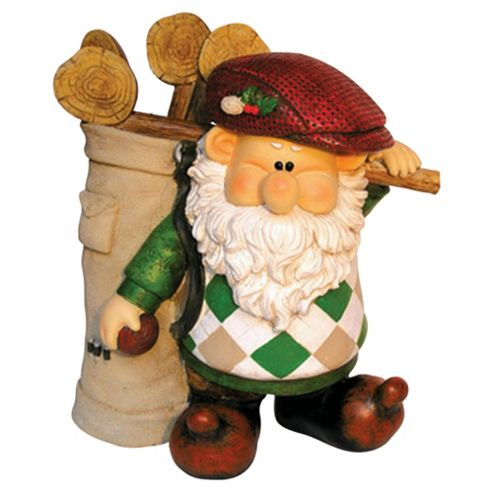 Woodland Wilf Gets a Hole in One Gnome