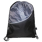 Tesco Activequipment Gym Bag, Black & Grey