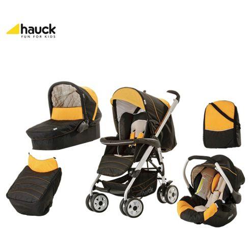 Hauck Condor Trioset Travel System, Black