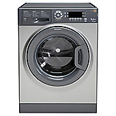 Hotpoint Ultima WMUD 942 G Washing Machine, 9kg Wash Load, 1400 RPM Spin, A++ Energy Rating. Graphite