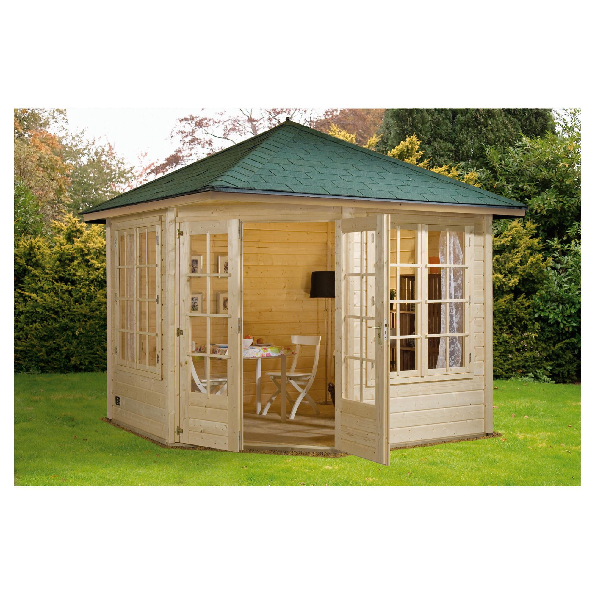 Finnlife VALO 212 Log Cabin at Tesco Direct