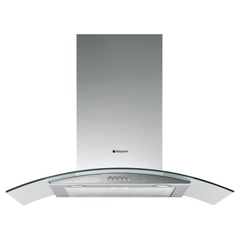 Hotpoint HTC 6T Curved Glass Hood