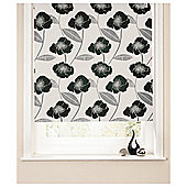 Poppy Roller Blind 60x160cm Black