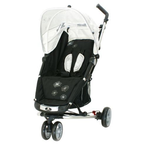 Petite Star Zia X 3 Wheeler Stroller, Ivory Starburst