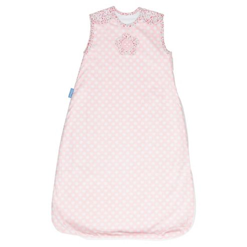 Grobag Baby Sleeping Bag, Button Rose 2.5 tog 18-36 Months