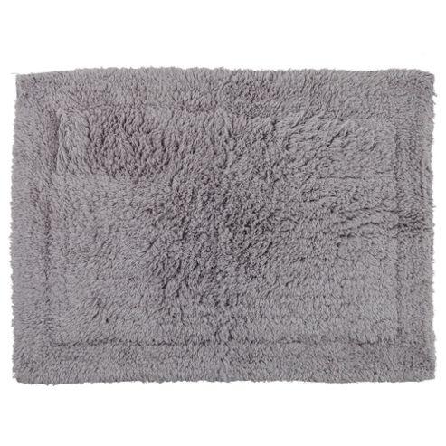 Tesco Bath Mat Silver