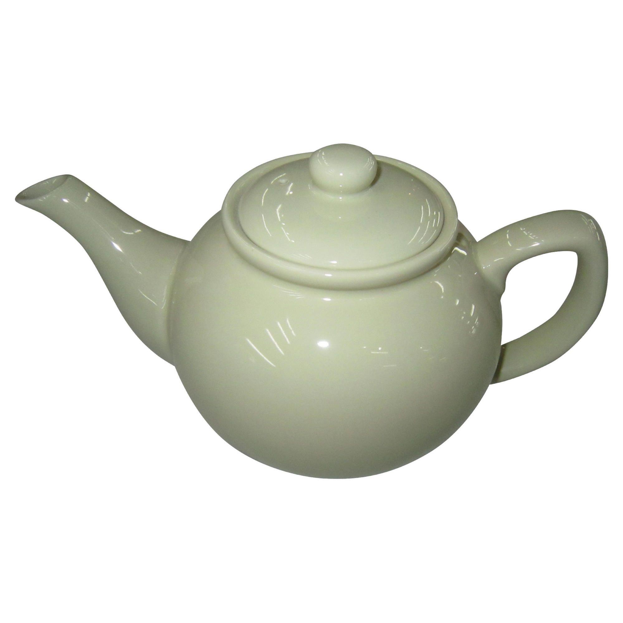 Tesco Teapot, Cream