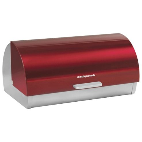 Morphy Richards Bread Bin, Red