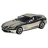 Hornby Hyper Cars Fully Chromed Bugatti Veyron Mercedes-Benz SLR MClaren C3169A Scalextric Hornby