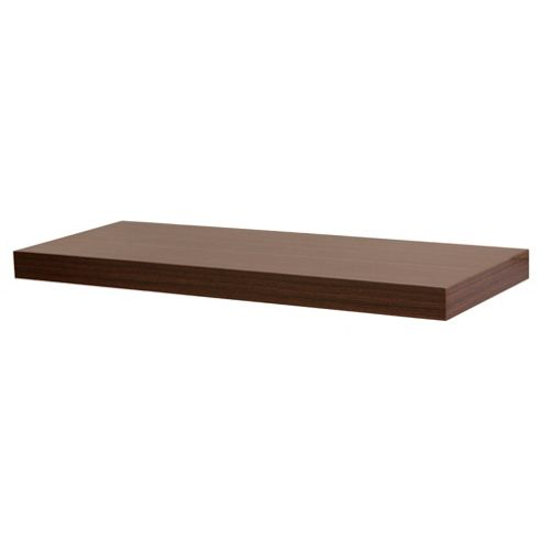 Walnut Floating Shelf 60cm