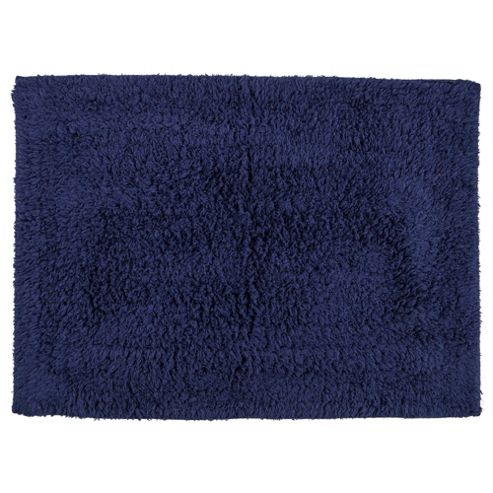 Tesco Bath Mat Navy