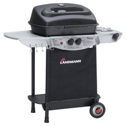 Landmann Atracto 2 Burner Gas BBQ with Side Burner