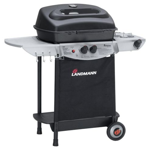 Landmann Atracto 2 Burner Gas BBQ + Side Burner
