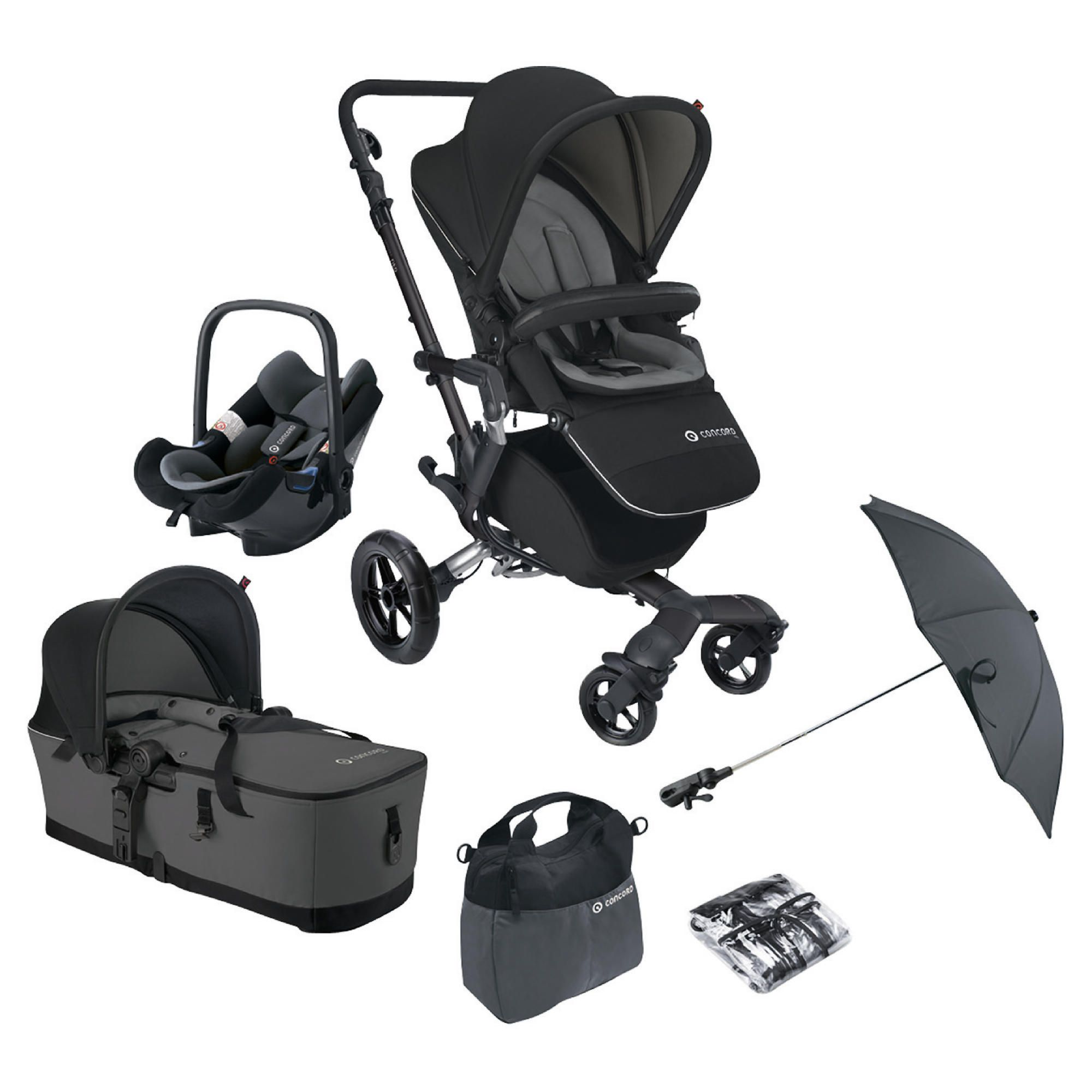 Concord Travel System Neo Mobility set, Graphite at Tesco Direct