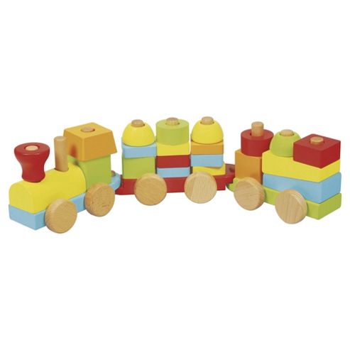 Buy Carousel Wooden Build and Stack Train from our Toy Vehicles range ...