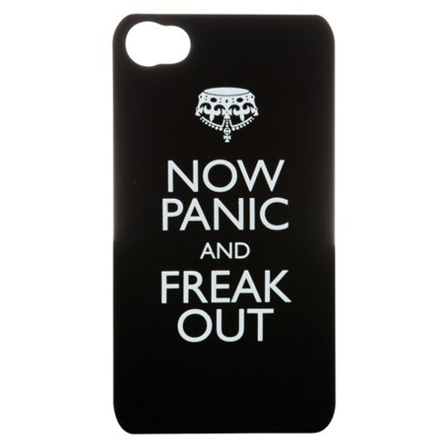 Bliss Hard Case iPhone 4/4S Now Panic and Freak Out Black