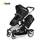 Hauck Duett Twin Pushchair - black
