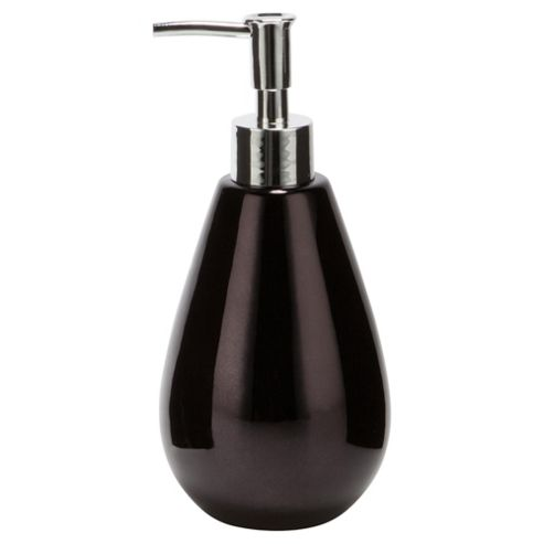 F+F Home Black Metallic Soap Dispenser