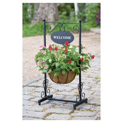 Gardman Welcome Planter Black