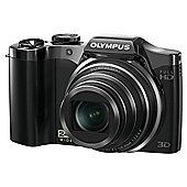 Olympus SZ-30 traveller camera black 16MP 24x wide zoom 3.0 LCD full HD movie