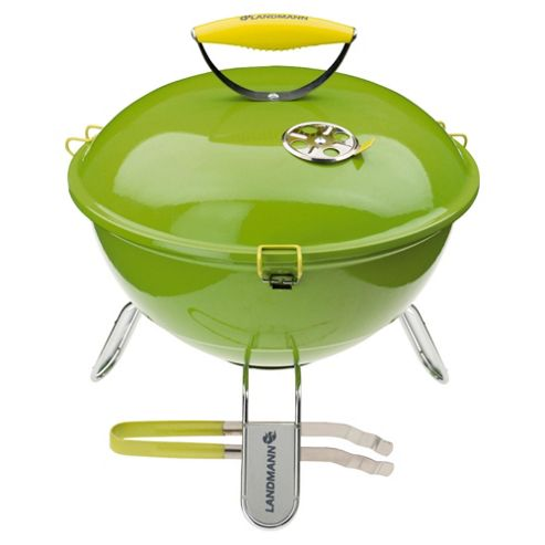 Landmann Piccolino Portable Charcoal BBQ, Lime