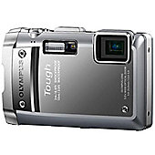 Olympus TG-810 tough camera silver 14MP 5x wide zoom 3.0 LCD 720P HD movie WTPRF