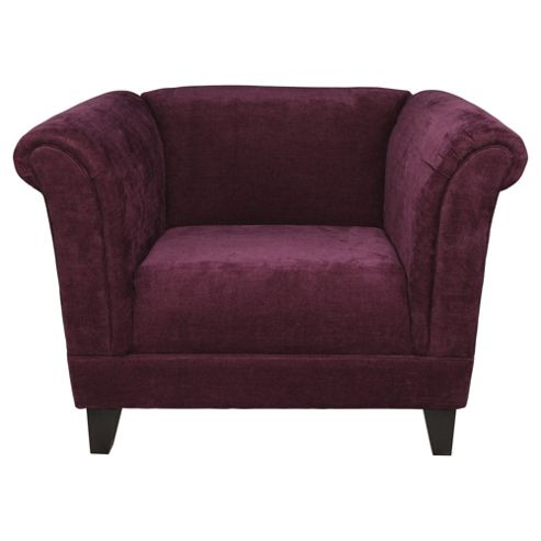 Millie Armchair Plum