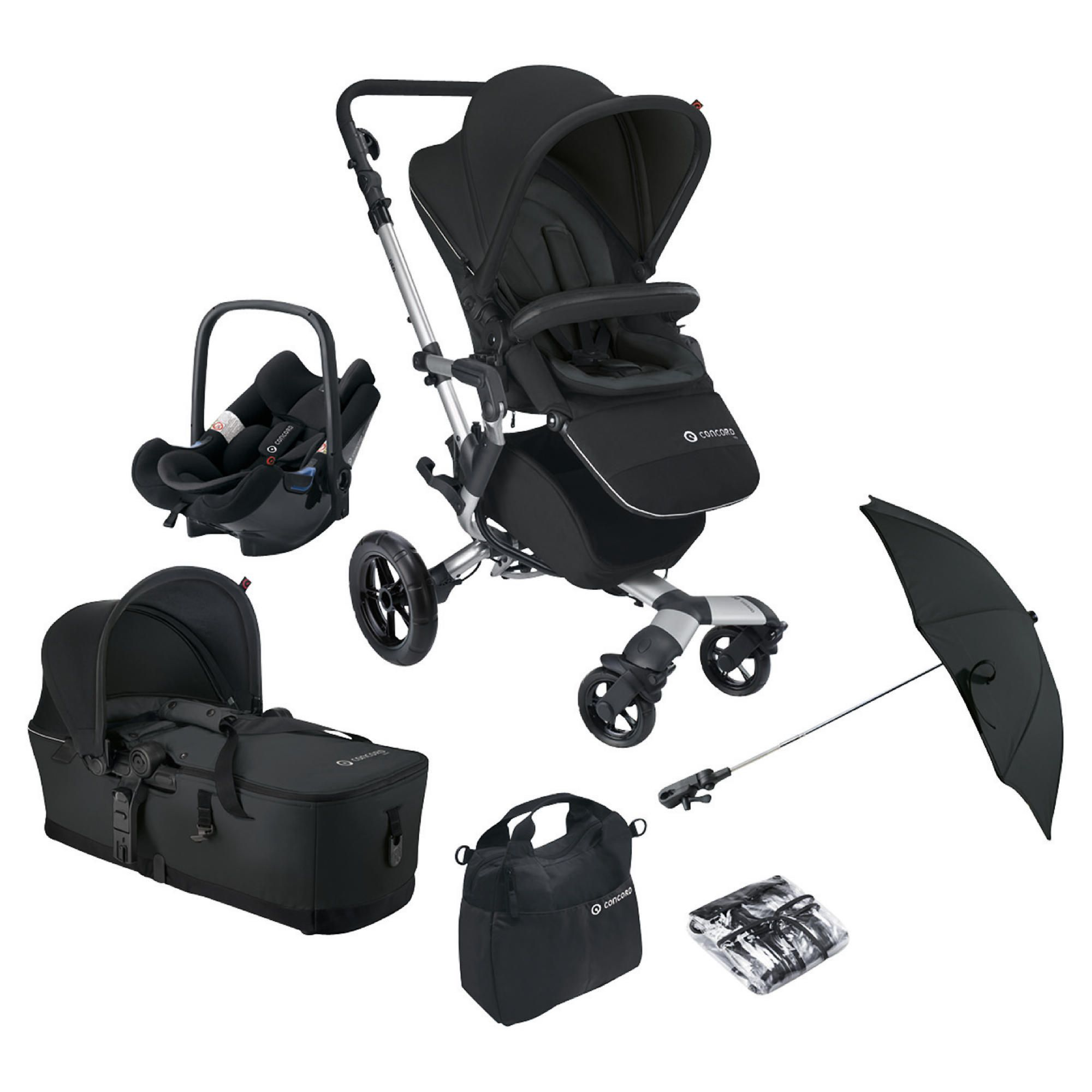 Concord Travel System Neo Mobility Set, Dark Knight at Tesco Direct