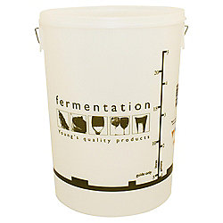 Youngs 25 Litre Fermentation Vessel (Full Colour-Graduated) with Lid