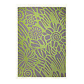 Esprit Finally Summer Lime Rug - 160 cm x 230 cm (5 ft 3 in x 7 ft 7 in)
