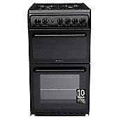Hotpoint Hag51K Gas Twin Cooker