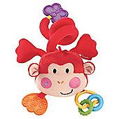 Fisher-Price Wrap Around Musical Plush Monkey