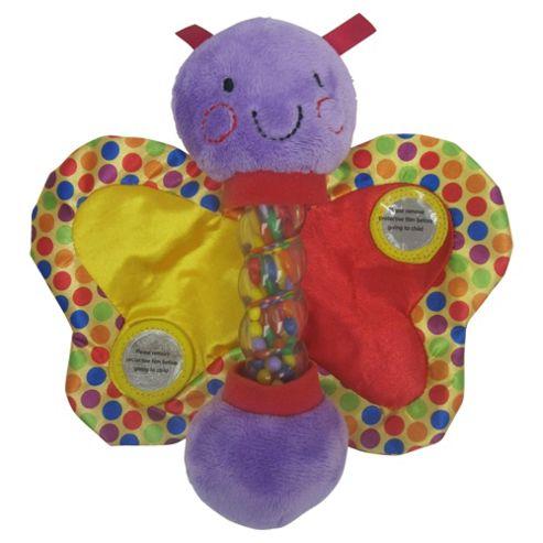 Minikins rainmaker rattle butterfly