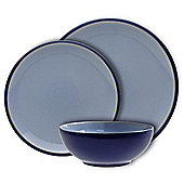 Denby Everyday 12 Piece, 4 Person Dinner Set, Blueberry